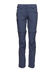WAYFARER ZIP PANT W - CROWN BLUE