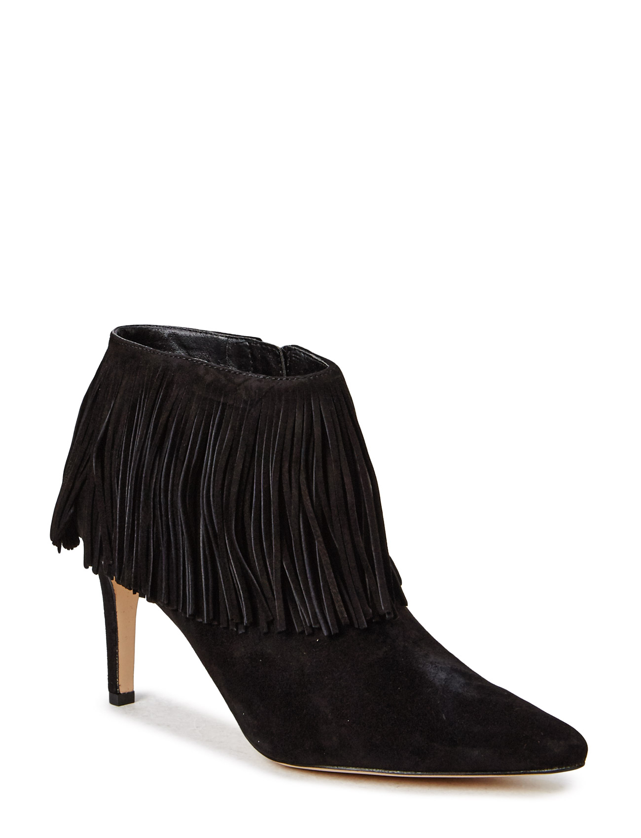 Kandice Sam Edelman Stiletter til Damer i Black Kid Suede