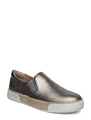 BANKS - PEWTER DREAMY METALLIC LEATHER