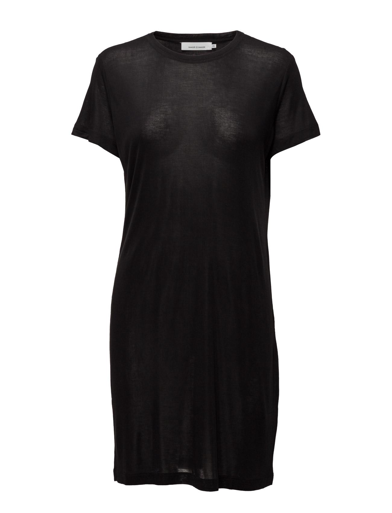 Siff Dress 6136 Samsøe & Samsøe Kjoler til Kvinder i Sort