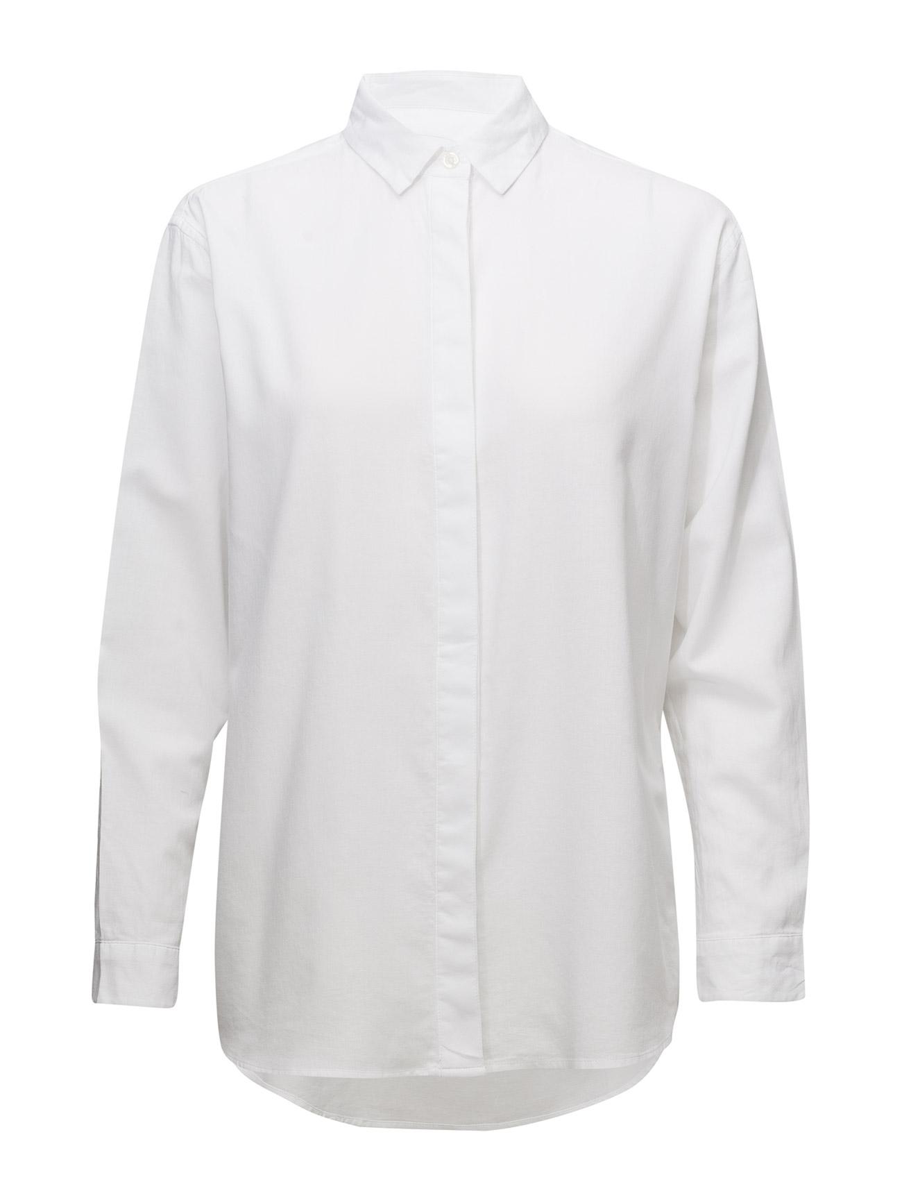 Caico Shirt 2634 Samsøe & Samsøe Langærmede til Damer i hvid