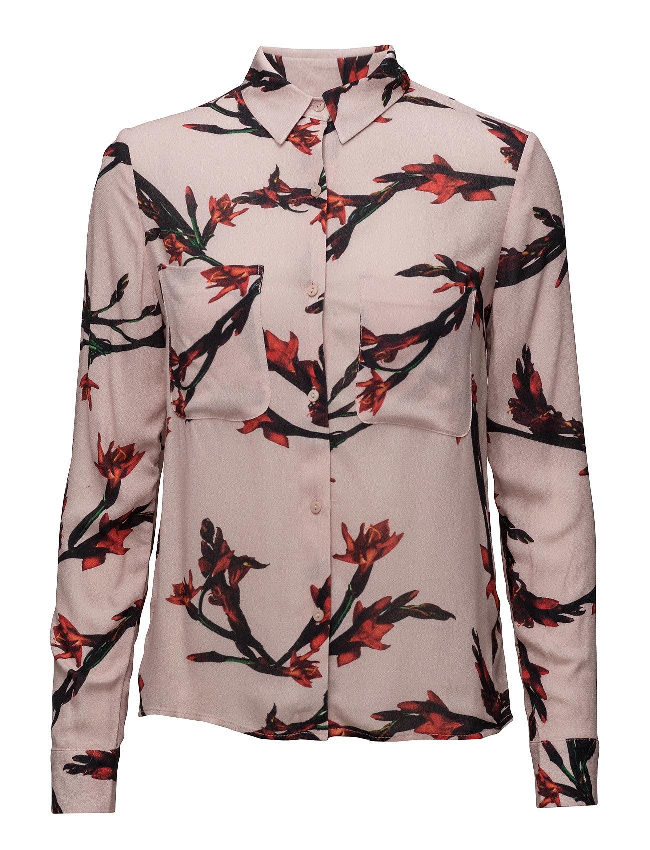 Milly Shirt Aop 7201 Samsøe & Samsøe Langærmede til Damer i