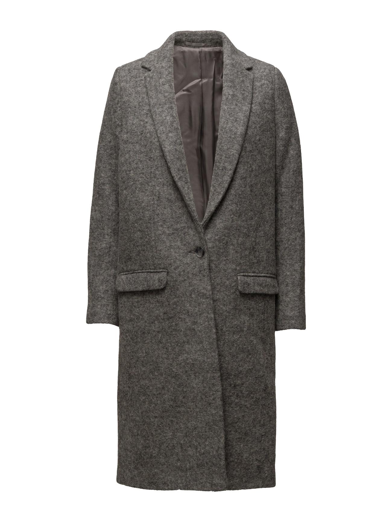 Cava Jacket 7421 Samsøe & Samsøe Frakker til Kvinder i Grey Mel.