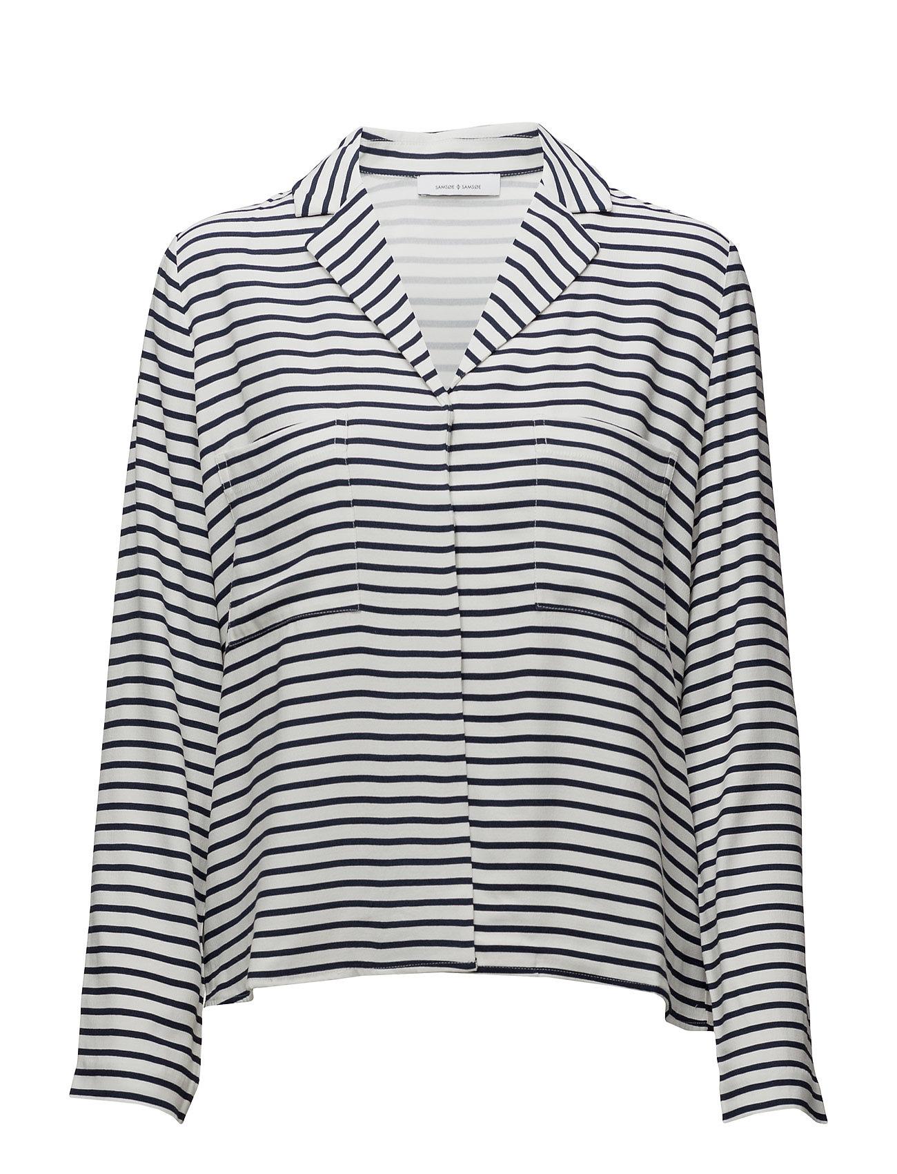 samsã¸e & samsã¸e Livia ls shirt aop 7944 fra boozt.com dk