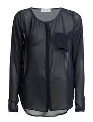 Josia blouse 1602 - BLUE IRIS