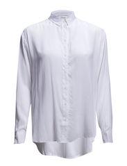 Moffa shirt ls 3856 - WHITE