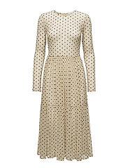 Spot ls dress 9873 - WHITECAP DOT