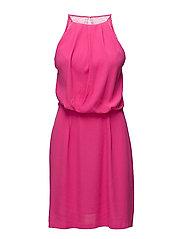 Willow short dress 5687 - FUCHSIA PURPLE