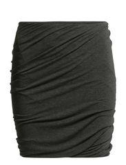 Stefani skirt 265 - BLACK MEL.