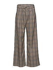 Mella pants 10621 - ORANGE CHECK