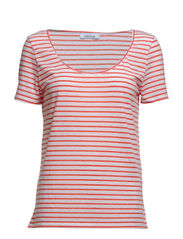 Nobel tee stripe 3173 - 3173 RED STRIPE