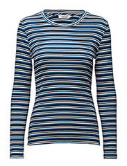 Neval o-n ls stripe 6384 - BLUETURTLE MULTI ST
