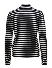 Sanella t-neck stripe 3111