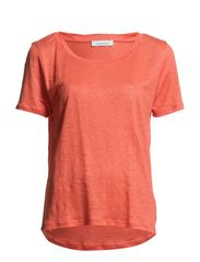 Agnete Tee 2562 - HOT CORAL