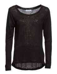 Agnete Blouse 2562 - BLACK
