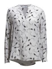 Waddi shirt AOP 3622 - PLUMES AOP