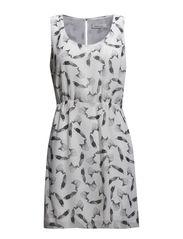 Rost dress aop 1602 - PLUMES AOP