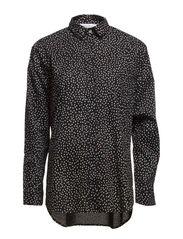 Caico shirt aop 3844 - DOT WHITE