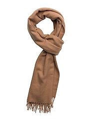 Accola maxi scarf 2862 - INDIAN TAN