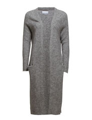 Pierre long cardigan 3112 - GREY MEL.