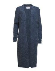 Atwood long cardigan 5654 - MAJOLICABLACKMEL