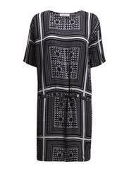 Yaya dress aop 3974 - KERCHIEF PRINT