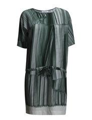Yaya dress aop 3974 - PLISSÈ AOP