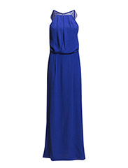 Willow dress long 5687 - ELECTRIC BLUE