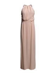 Willow dress long 5687 - TROPICAL PEACH