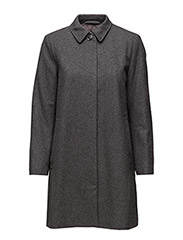 Car Coat 3644 - DARK GREY MEL.
