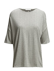 Mains tee aop 5996 - THIN TWEED