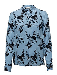 Milly shirt aop 7201 - BLUE BLOOM