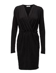 Trinny v-n dress 6202 - BLACK