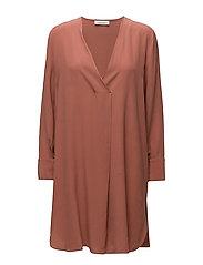 Ida ls dress 7879 - LIGHT MAHOGANY