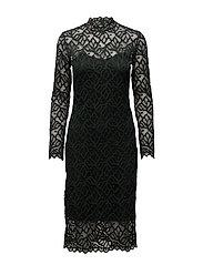 Ibi dress 7677 - DARKEST SPRUCE