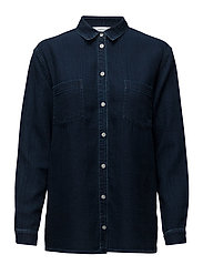 Auclair shirt 7749 - INDIGO RINSE