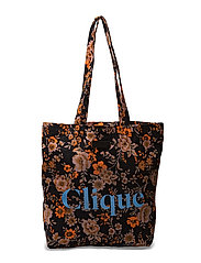 Pitti Shopper aop 7904 - BLACK BLOOM