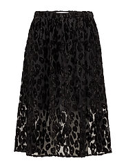 Kayla long skirt 9308 - BLACK