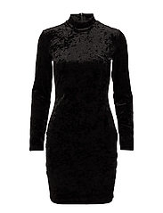 Viol ls dress 9557 - BLACK