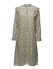 Cavan ls dress aop 9696 - BLOSSOM