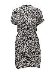 Kimberly ss dress aop 6616 - PETIT FLEUR