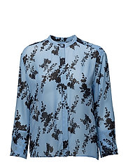Elm shirt aop 9695 - BLUE BLOOM