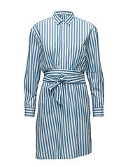 Dayne shirt dress 8321 - BONNIE STRIPE