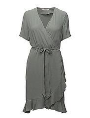 Limon ss dress 9941 - CHINOIS GREEN