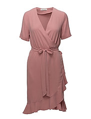 Limon ss dress 9941 - DUSTY ROSE