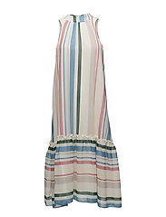 Sua l dress aop 9937 - COTTAGE STRIPE