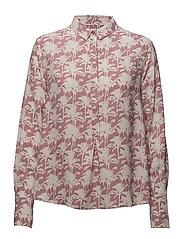 Hamiti shirt aop 9949 - ROSE PALMIER