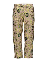 Louise crop pants 9901 - BLAZING FLOWER