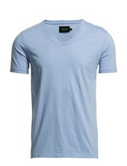 MARIAN MALE V-NECK BASIC 273 - DELLAROBBIA BLUE