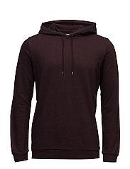 Enno hoodie ls 7057 - WINDSOR WINE MEL